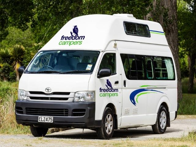 3 Berth Campervan Hire New Zealand - MyDriveHoliday