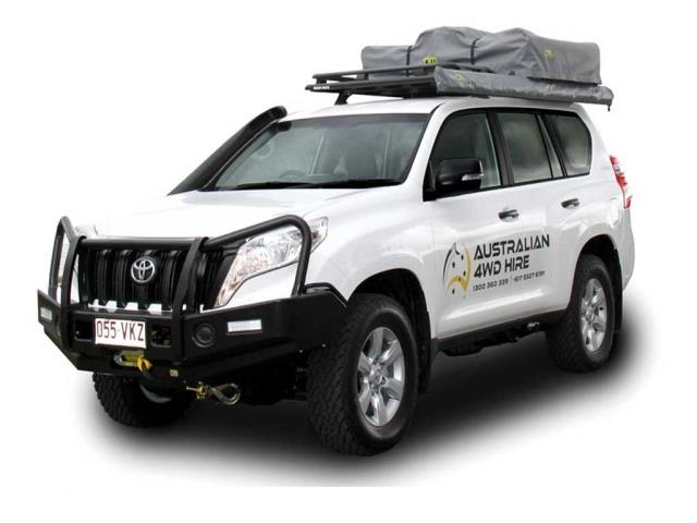 4WD Bush Camper Large RTT'