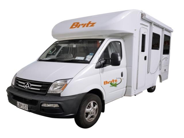 2 Berth Campervan Hire New Zealand - MyDriveHoliday