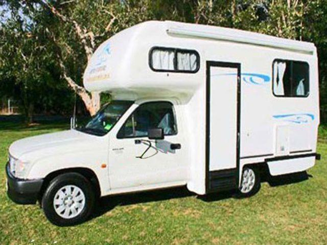 The 2 Seater Compact Motorhome