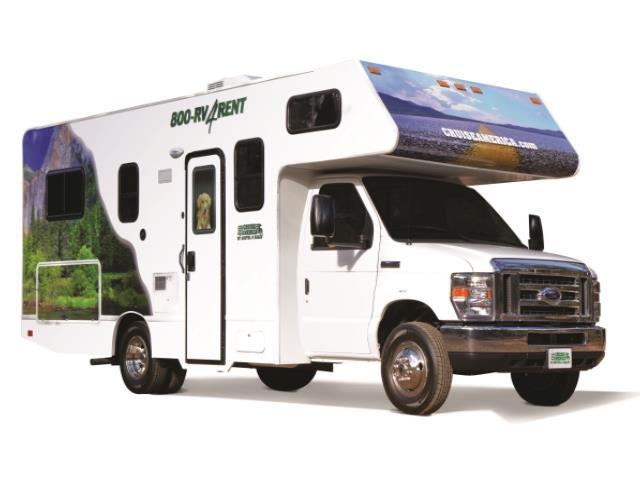 4 Berth RV Rental USA - MyDriveHoliday