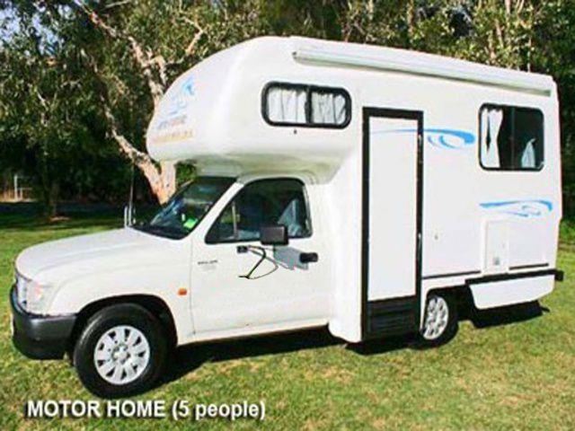 The 5 Seater Compact Motorhome