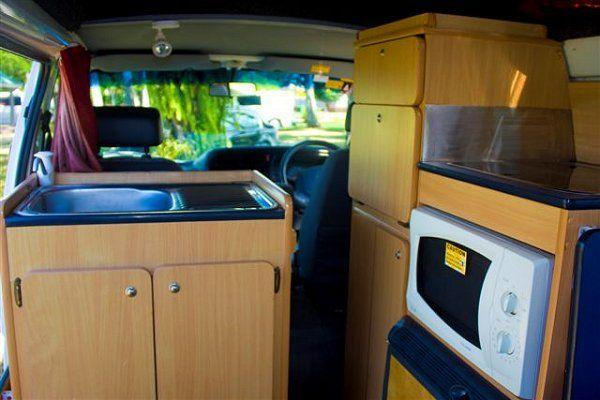 Family 5 Berth Hightop Interior view 3