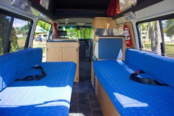 Family 5 Berth Hightop Interior view 1