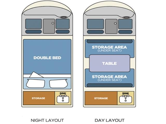 2Berth Chubby Day and Night Configuration view 1