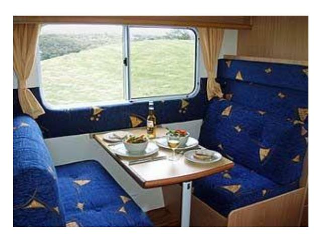 NT Deluxe 6Berth Interior view 1