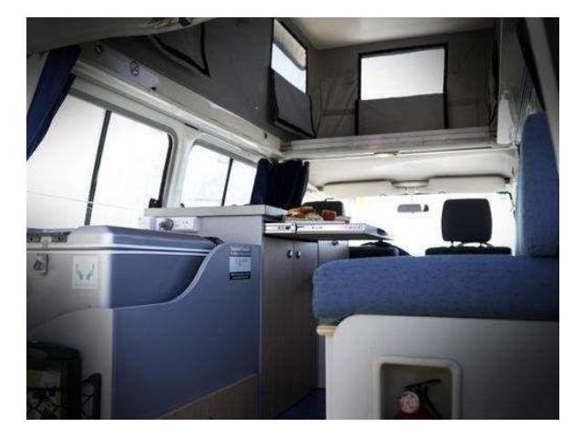 Challenger 4WD Interior view 1