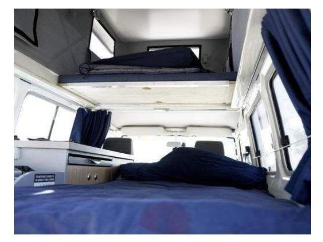 Challenger 4WD Interior view 2