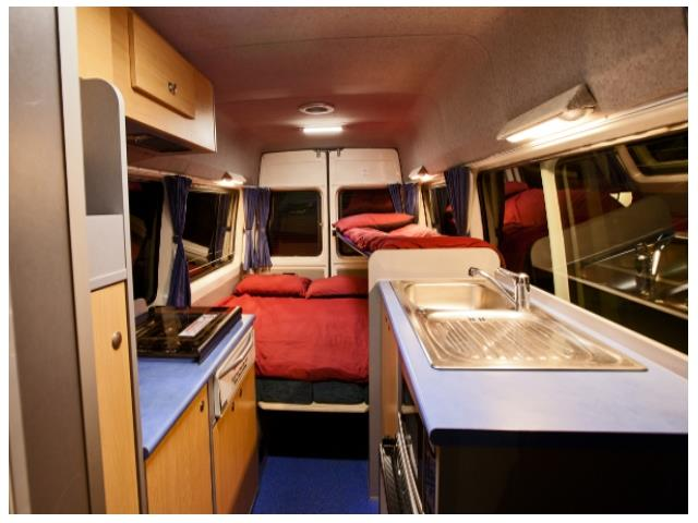 Koru 2berth ST XL Interior Night View 1