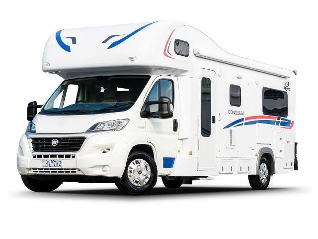 The 6 Berth Conquest Tourer